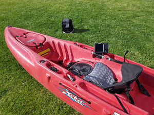 2014 Hobie Outback - fishing setup