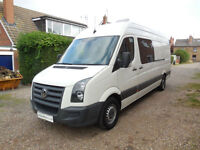 Volkswagen Crafter Camper Van Rear Garage! 4 Berth!