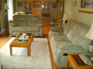 Reclining Sofa, Loveseat and Chair