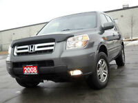 2008 Honda Pilot EX-L  AWD, 8 Pass, Leather,Sunroof,  Certified