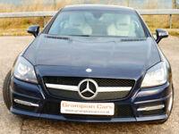 Mercedes-Benz SLK250 AMG 2.1CDI ( 204bhp ) Blue F ( s/s ) 7G-Tronic Plus 2 AMG