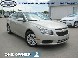 2014 Chevrolet Cruze 1LT  - one owner - local - sk tax paid - tr
