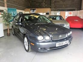 2008 08 Jaguar X Type Face Lift Diesel Sport,Estate