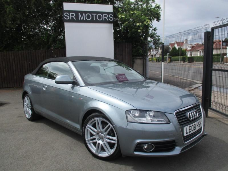 2008 audi a3 cabriolet 2 0tfsi s line in crookston glasgow gumtree. Black Bedroom Furniture Sets. Home Design Ideas