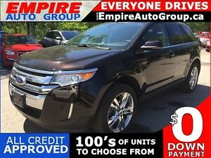 2013 FORD EDGE LIMITED * AWD * LEATHER * NAV * REAR CAM * PAN SU