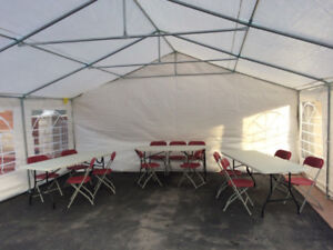 CHEAP PRICING for Table, Chair and Tent Rentals. RENT NOW