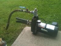 3/4hp jet pump