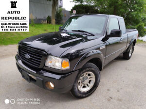 2008 Ford Ranger Sport, only 84k kms, Single Owner, Accident Fre