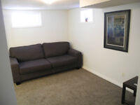 Furnished basement in City Park for rent August 15th