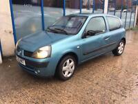Renault Clio 1.2 16v Dynamique 3 DOOR - 2003 03-REG - 9 MONTHS MOT