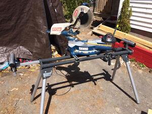 Ryobi Sliding mitre saw with stand