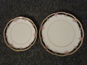 Noritake Bone China plates - Palais Royal design
