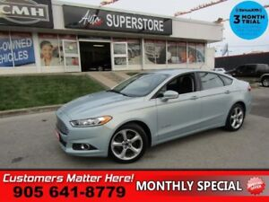 2014 Ford Fusion SE  NAV CAMERA PWR-SEAT BT ALLOYS