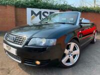 2004 54 Audi S4 Cabriolet 4.2 Convertible 2dr Petrol Automatic quattro LOW MILES for sale  Burton-on-Trent, Staffordshire