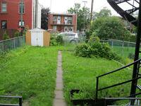 6-1/2 +backyard, basement, parking and more (immediately)