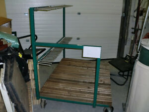 Shop Cart - Heavy Duty custom built steel