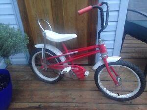 Vélo Précision banc banane pour enfant