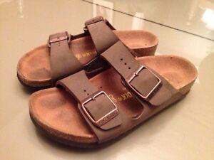 Hardly Used Kids Birkenstock Sandals, size 12 30 London Ontario image 1