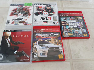 5 PS3 GAMES FOR SALE BEST OFFER
