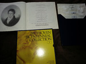 Beethoven collection, Classical records,albums & music books