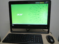 "19.5"" Acer All-in-One Computer Desktop Dual Core 8GB 1TB Office"