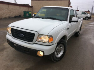 2008 Ford Ranger Sport, ONLY 56k KMS, Certified, No Accidents