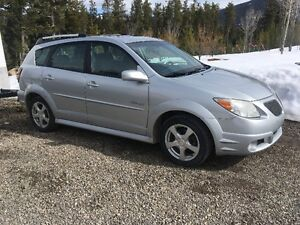 2006 Pontiac Vibe GT, with 2 Full Sets of Tires AND Rims!