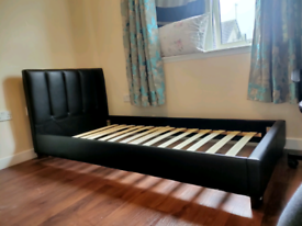 Good condition single bed for sale with mattress