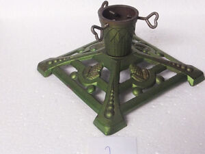 CAST IRON GERMAN CHRISTMAS TABLE TREE STAND- CANDLE HOLDER London Ontario image 1