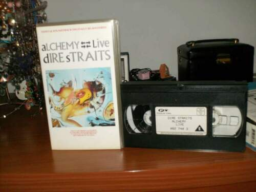 Dire Straits Alchemy VHS