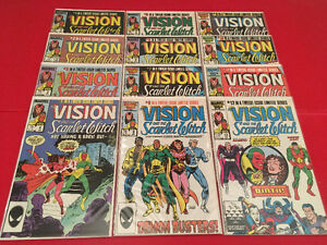 The Vision & the Scarlet Witch (1985) 1-12 complete mini-series