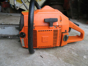 Husqvarna 266SE chainsaw . Now Sold ! No longer available.