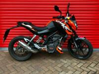 2013 KTM DUKE 125 LEARNER LEGAL CBT DELIVEY AVAILABLE PX WELCOME