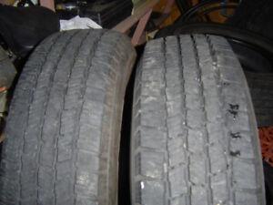 5 Pneus Michelin LTX   LT 225/75/R16  MS  10 Plis