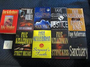 FAYE KELLERMAN 9 HARD COVER MYSTERY NOVELS