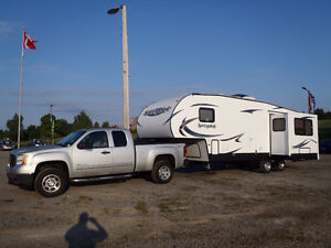 Truck and Travel Trailer Combo