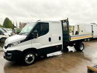 IVECO lDAILY 35C13 DIESEL 2.3 Crew Cab Tipper. 2015/15 Registration