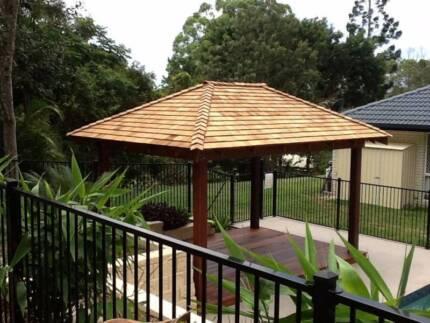 Gazebos, Bali Huts and Timber decking Installed or DIY