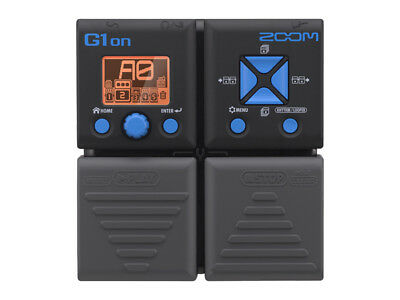 Zoom G1on Multi Effects Guitar Processing Pedal   G1 On