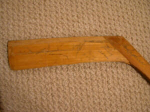 1953-55 Toronto Maple Leaf Team Signed Vintage Stick