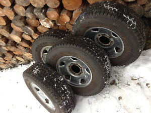 Ford F-250 tires and rims