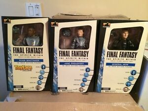 "Final Fantasy spirits within 12"" action figure SET of 6"