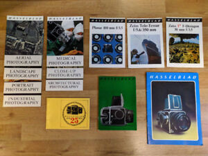 Hasselblad guides, manual and history