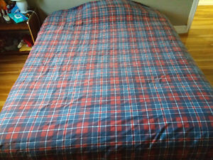 Queen size mattress with box + linen cover - MUST GO! Peterborough Peterborough Area image 4