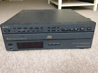 Free Sony 5-disk CD player