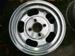 "13"" aluminum polished rims Prince George British Columbia image 3"
