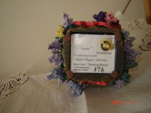 Retired Lena Liu from the Basket Bouquets Music Box Collection London Ontario image 3