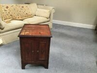 Small wooden ?oak cabinet for sale