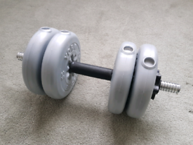 York Dumbbell with 4x2.5kg plates