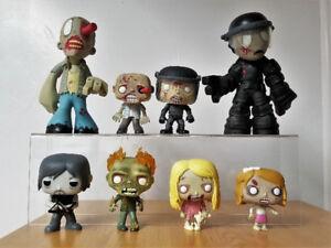 Funko Pop Loose The Walking Dead Lot Walkers Daryl Set of 8